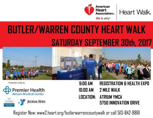 Butler/Warren County Heart Walk