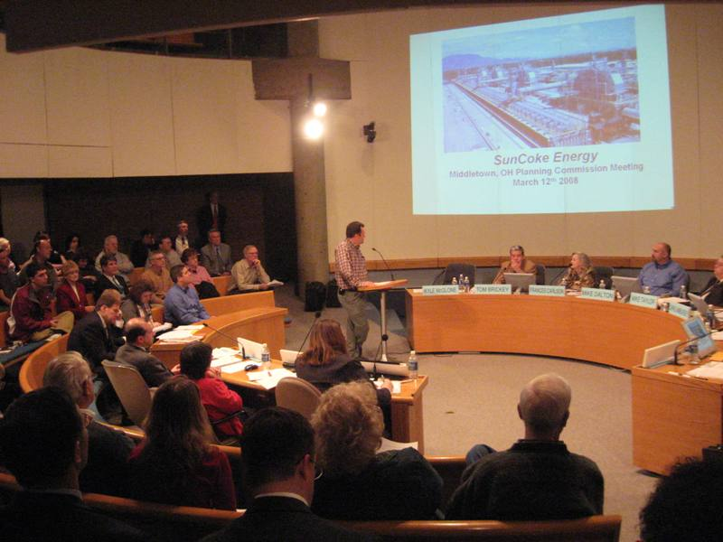 SunCoke Plant - Planning Commission Vote - Middletown Forum - Page 1