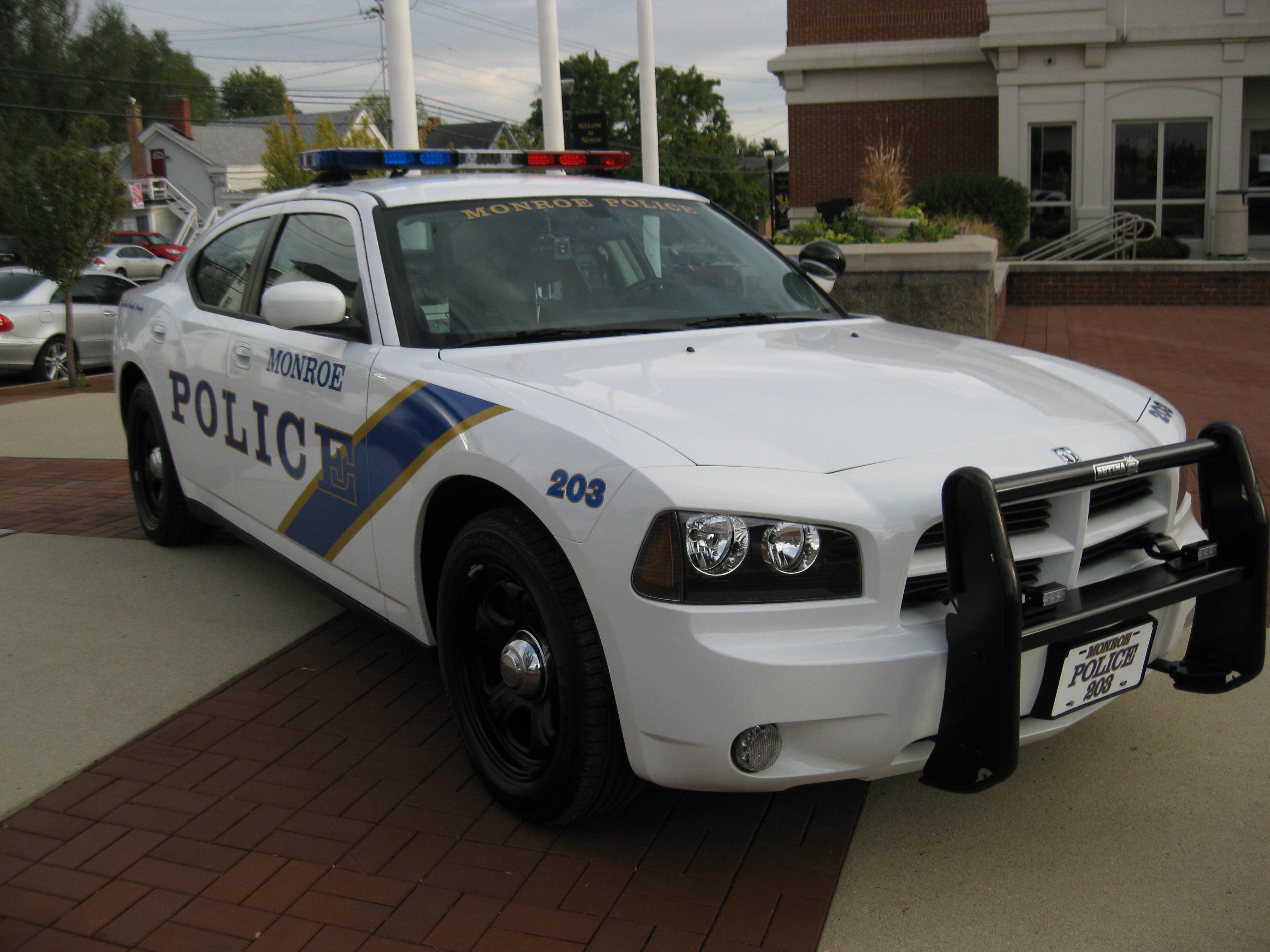 Two New 2011 Dodge Charger Police Cruisers