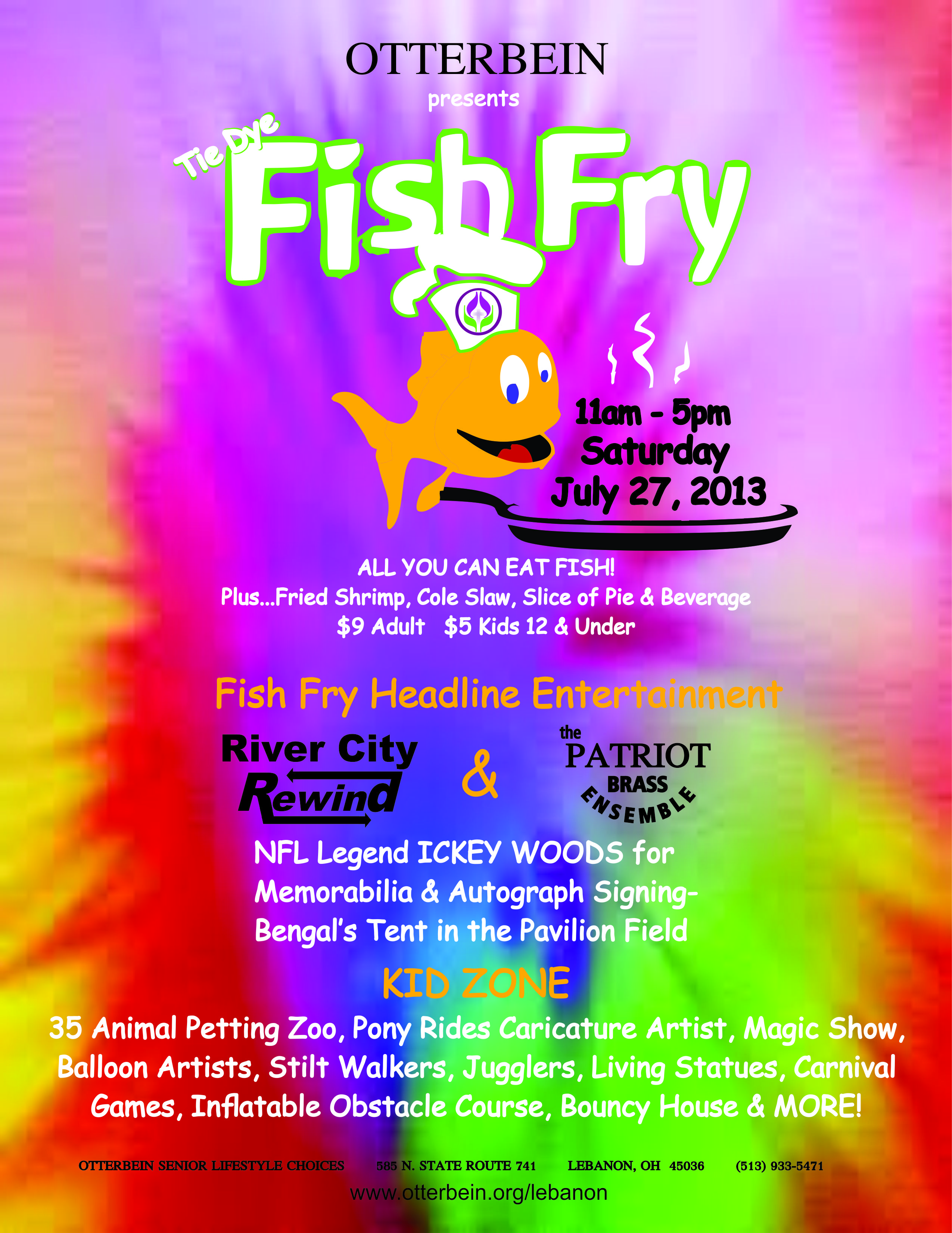 Otterbein Lebanon Welcomes Public To Its 45th Annual Fish Fry